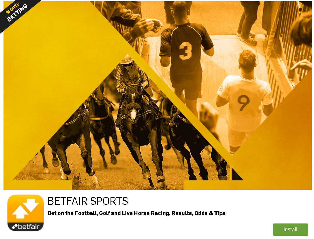 Betfair app Android download process